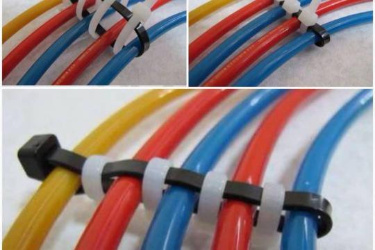 Những công dụng không ngờ tới của dây rút nhựa